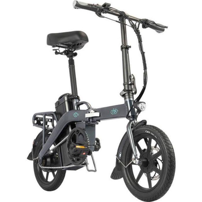 L3 FIIDO System Outdoor Cycling Vélo électrique pliable E-Bike Gris pour adulte