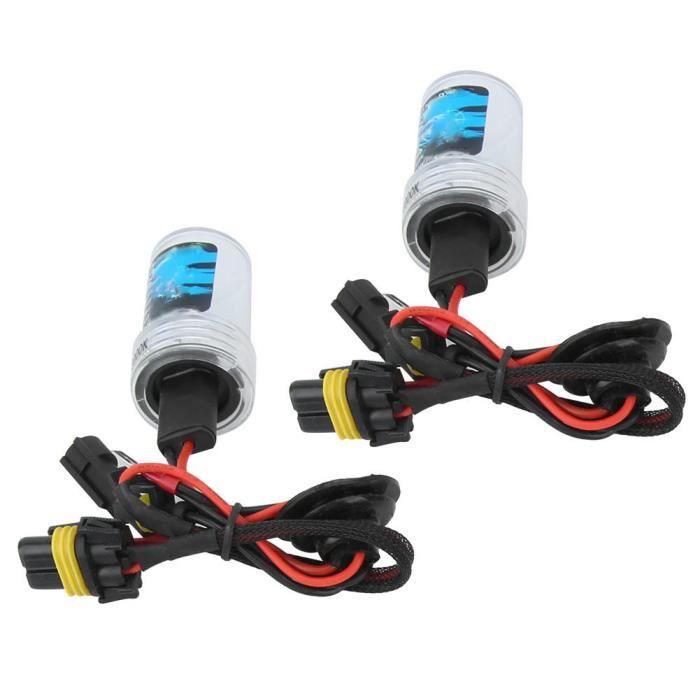 EBTOOLS phare à LED Kit Phare Xénon Ultra-Mince Ballast Argent Voiture H7 8000K 12V / 55W (H7)
