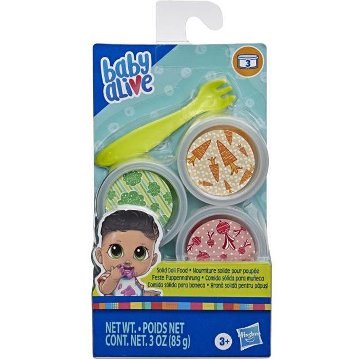 Baby Alive - Recharge de nourriture solide pour poupees et poupons