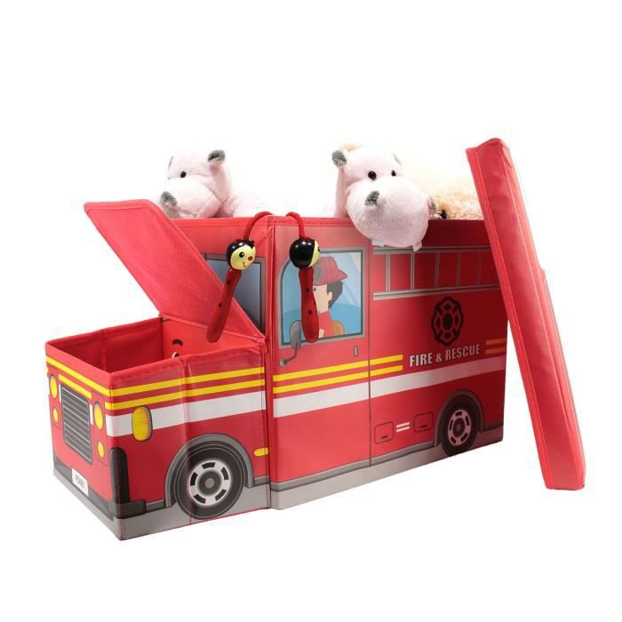 Coffre de rangement camion de pompier
