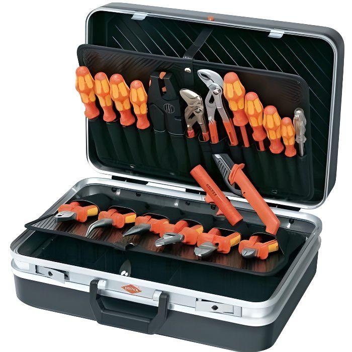 Mallette à outils Électricien 20 outils Knipex …