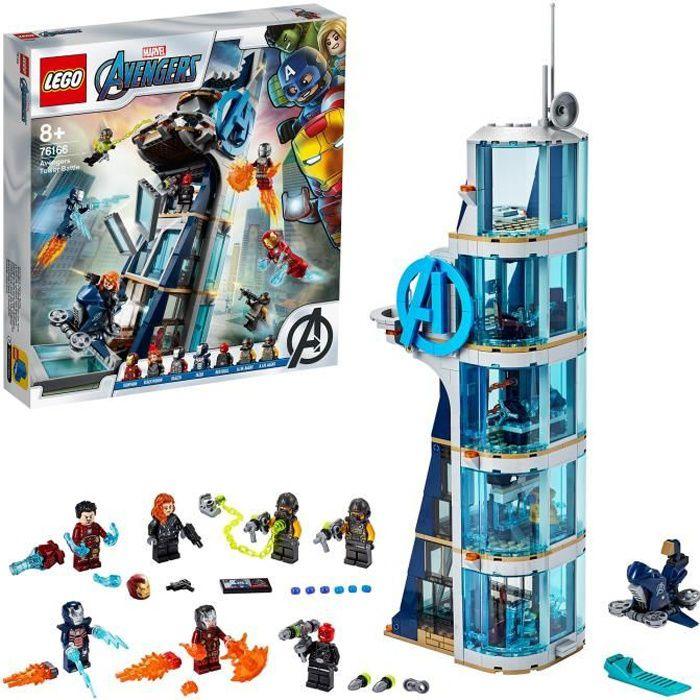 LEGO® Marvel Super Heroes™ 76166 La tour de combat des Avengers