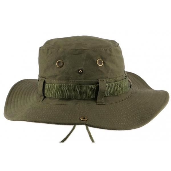 Chapeau Bob safari Vert Azzy - Vert - Taille unique