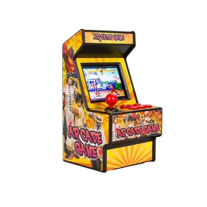 Jaune 16bit pour sega game 156 jeux en 1 Mini Machine d'arcade Portable classique rétro jeux vidéo de poche Console jeux d'arcade