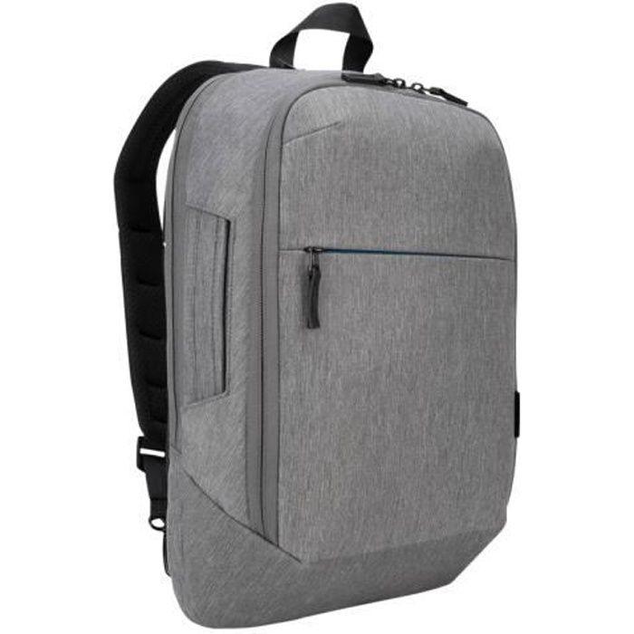 TARGUS CityLite Convertible - Sac à dos pour ordinateur portable - 12.5- - 15.6- - Gris