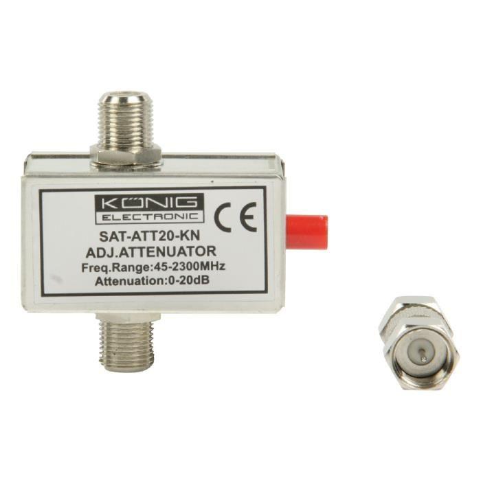 ANTENNE RATEAU Atténuateur variable 20 dB