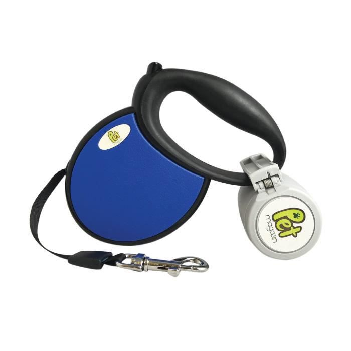 Retractable Dog Leash With Poop Bag Holder Pmbfl