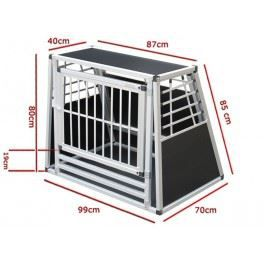 cage n 34 de transport pour chien aluminium achat vente caisse de transport cage n 34 de. Black Bedroom Furniture Sets. Home Design Ideas