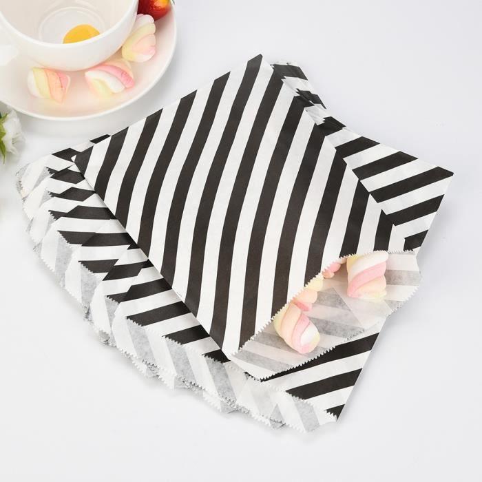 SET ACCESSOIRE CUISINE 25 Pcs Nourriture Sûr Biscuit Papier Sac Bonbons F