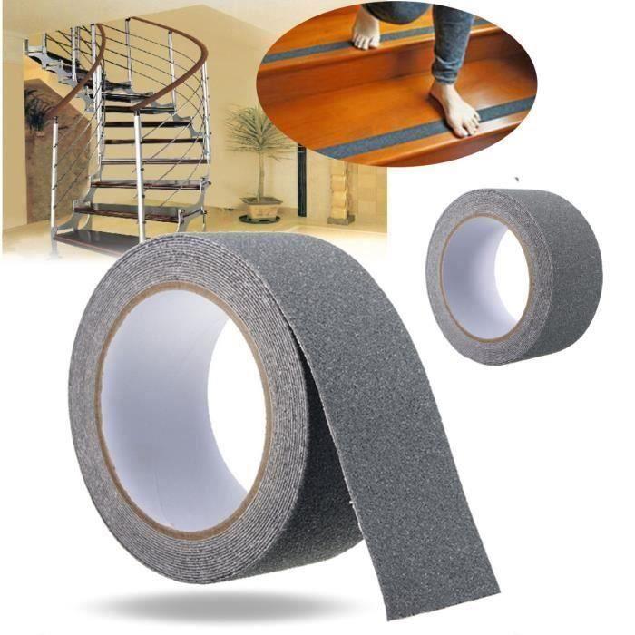Bande Antidérapante Pour Escalier Bateau 5m x 25mm Ruban Adhesif Anti-Dérapant