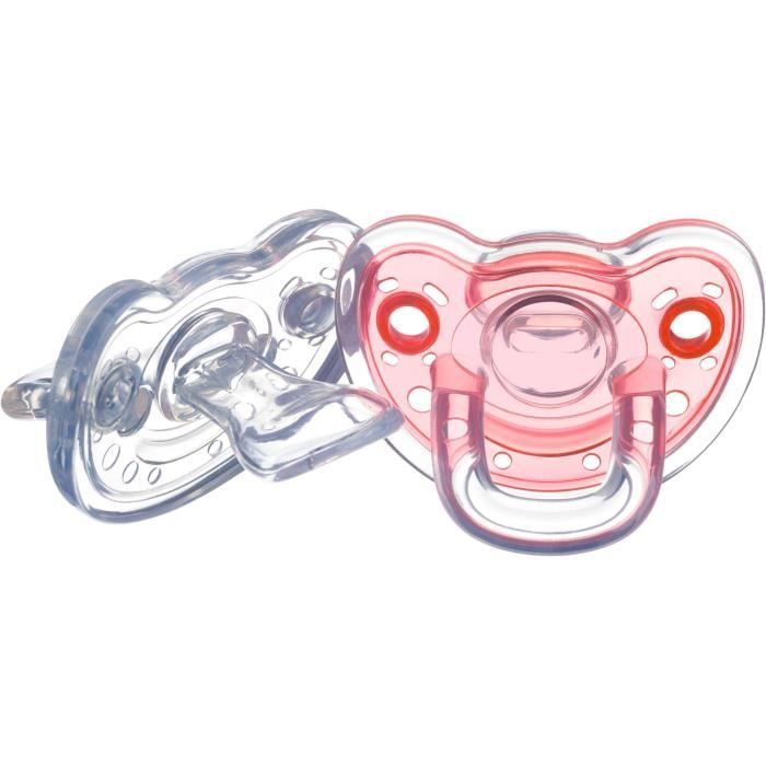 SUCETTE BEBE CONFORT Sucette natural physio tout silicone