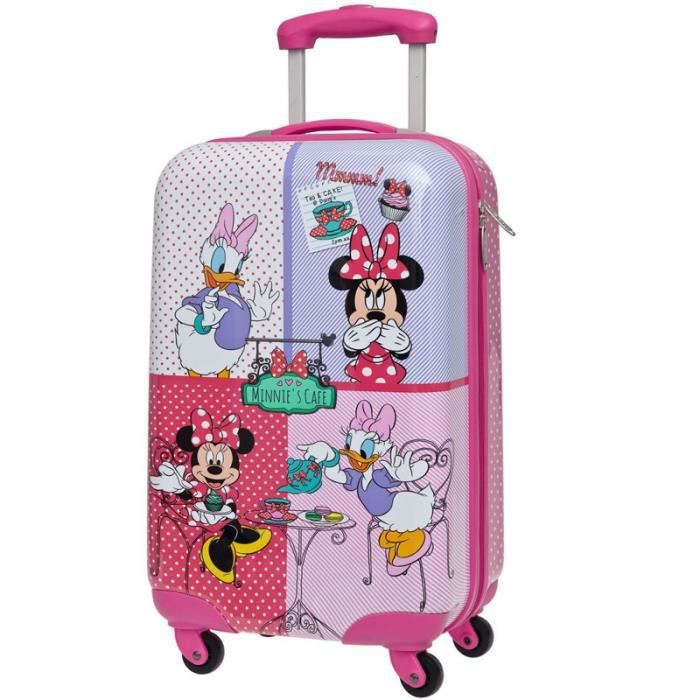 valise enfant minnie daisy 55cm rose achat vente valise bagage valise enfant minnie. Black Bedroom Furniture Sets. Home Design Ideas