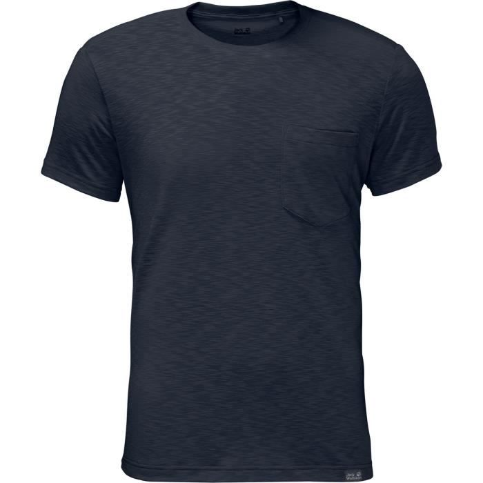 T-SHIRT MAILLOT DE SPORT Jack Wolfskin T-shirt manches courtes Travel Homme