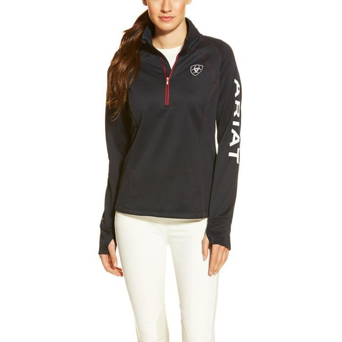Ariat Tek Team Quarter Zip Womens Fleece
