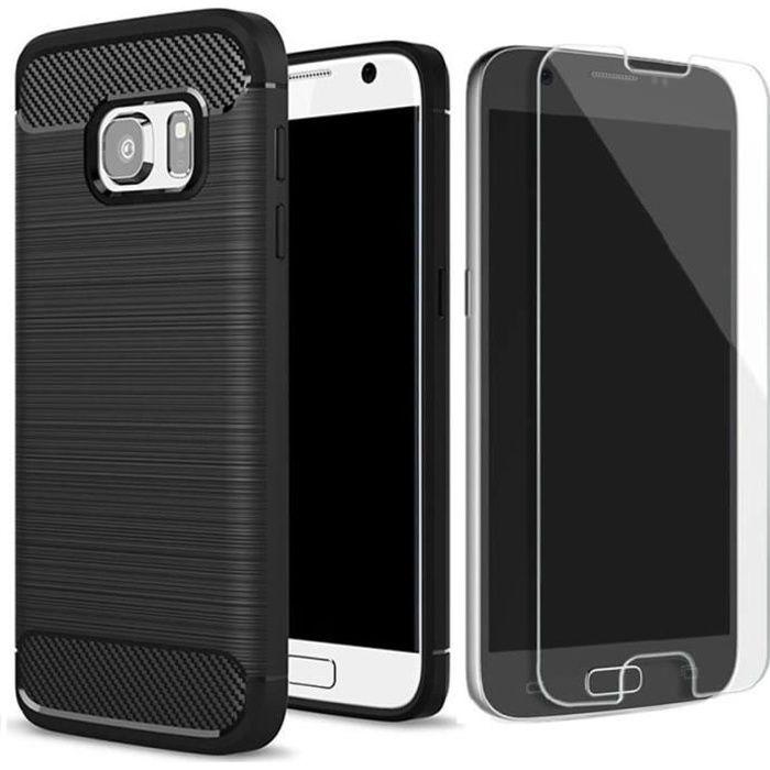 Coque Samsung Galaxy S7 Antichoc Design Verre tr