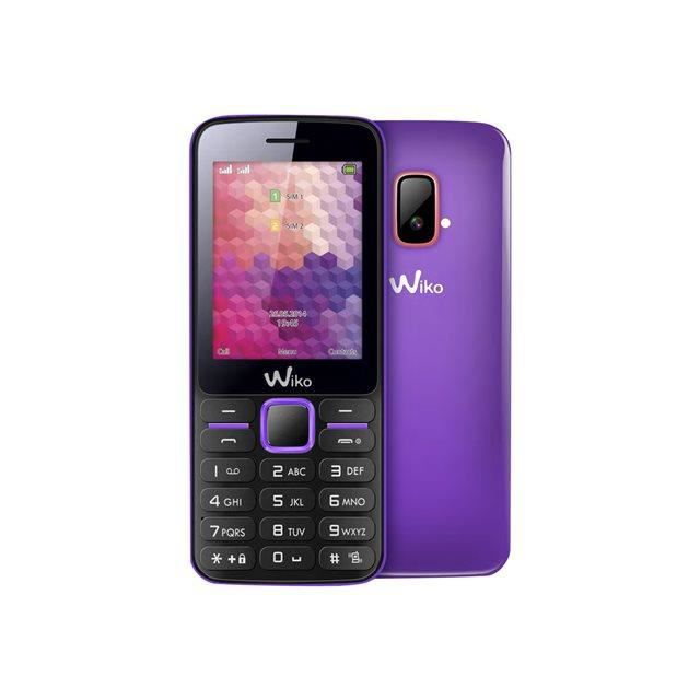 telephone portable wiko riff violet dual sim t l phone portable avis et prix pas cher. Black Bedroom Furniture Sets. Home Design Ideas