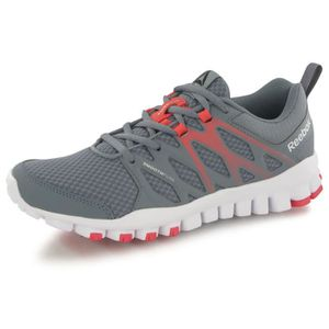watch 628de 39448 ... CHAUSSURES DE FITNESS Reebok Realflex Train 4.0 gris, chaussures de  trai. ‹›
