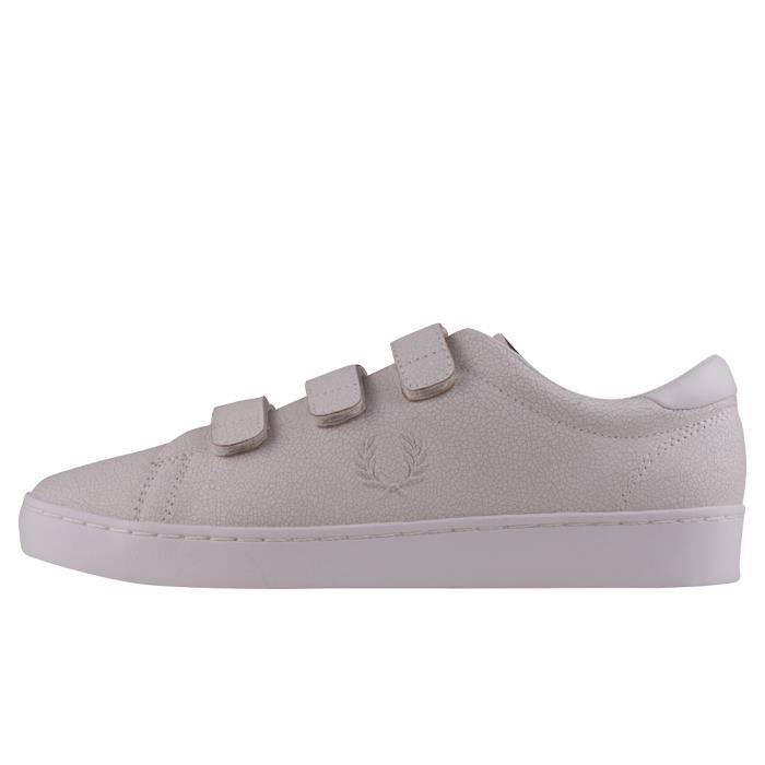 Blanc Fred Perry UK Perry Baskets Hommes 10 Premium Fred Spencer fRTfq0w