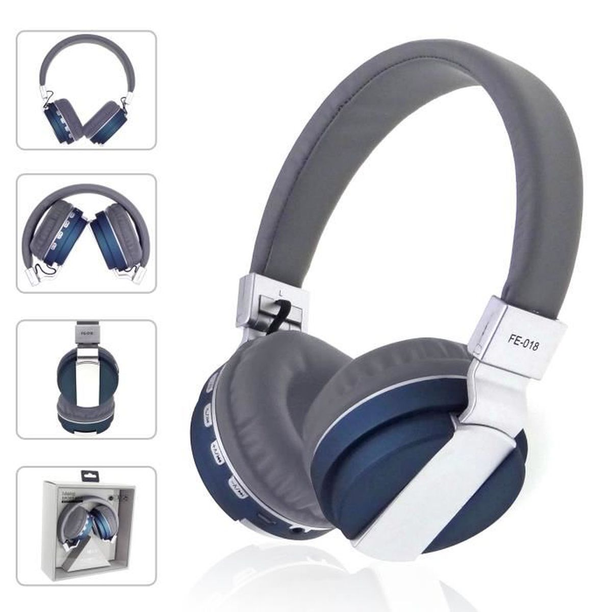m tallique casque bluetooth v4 0 casque audio sans fil. Black Bedroom Furniture Sets. Home Design Ideas