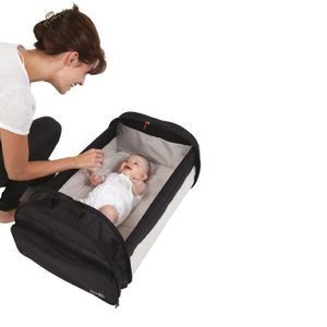 COUFFIN ET SUPPORT BABYSUN Simple Couffin Nomade Noir
