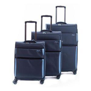 SET DE VALISES Set de 3 valises souples 8 roulettes Arizona2.0 Al
