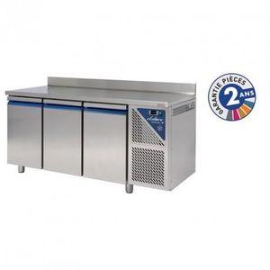 ARMOIRE RÉFRIGÉRÉE Table réfrigérée positive 460 L - 3 portes avec do
