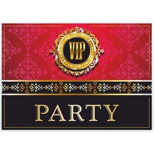 Vip Lot De 12 Noble Cartes D Invitation V I P Invitations Anniversaire Inauguration Mariage Anniversaire D Enfant Invitations