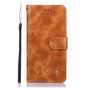 HOUSSE - ÉTUI Housse Rétro Cuir Étui pour Xiaomi Redmi Note 8 Pr