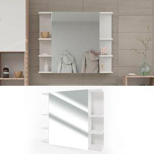 ARMOIRE DE TOILETTE  Armoire de toilette FYNN 80 x 64 cm blanc