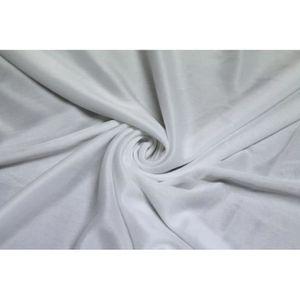 TISSU Tissu Banlon Blanc -Au Mètre