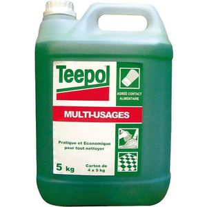 NETTOYAGE MULTI-USAGE Nettoyant détergent multi-usages 5L Teepol