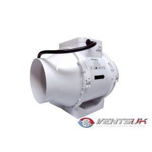 EXTRACTEUR D'AIR Vents Extracteur TTRV 100mm.2 Vitesses 190/150m...