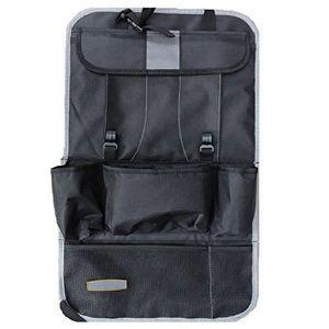 Hyhy Car Back Hanging Bag Sacoche de Rangement Multi-Poches pour Organisateur de si/ège de Voiture Pochette de Rangement pour si/ège arri/ère,Beige