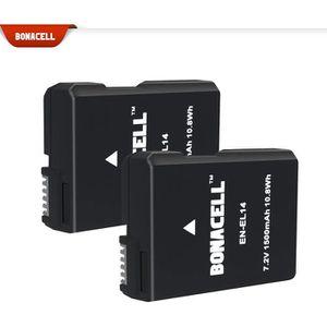 BATTERIE APPAREIL PHOTO 2X Batterie 1500 mAh de Remplacement pour Appareil
