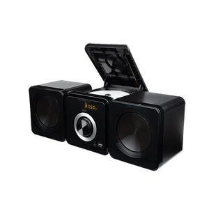 CHAINE HI-FI ECG XMS 144 U - Micro Chaîne CD et MP3 - 2x2,5W -