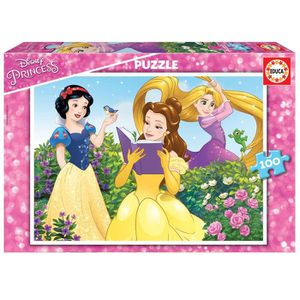 PUZZLE EDUCA - Puzzle - 100 DISNEY PRINCESSES