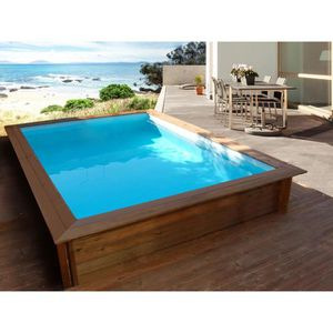 PISCINE Piscine bois rectangle
