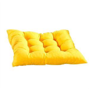 COUSSIN DE CHAISE  2pcs Canapé Chaise Seat Soft Pad Coussin pour Ponç