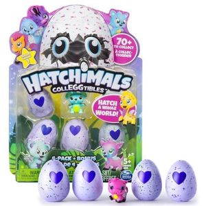 UNIVERS MINIATURE HATCHIMALS Pack De 5 Hatchimals SAISON 1 (assortim