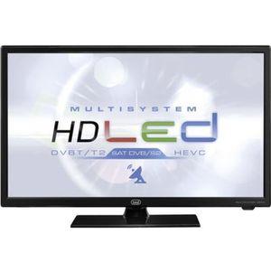 Téléviseur LED TV HD 24P AVEC 12V LTV 2401 SAT NOIR TREVI
