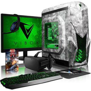 UNITÉ CENTRALE + ÉCRAN VIBOX Reptile VGL780T-138 VR PC Gamer avec Oculus