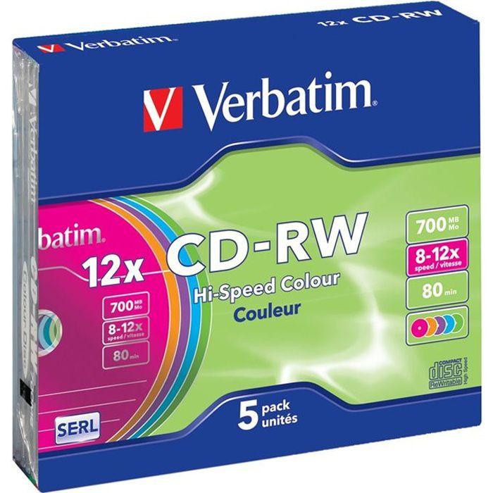 Verbatim Cd Rw 12x