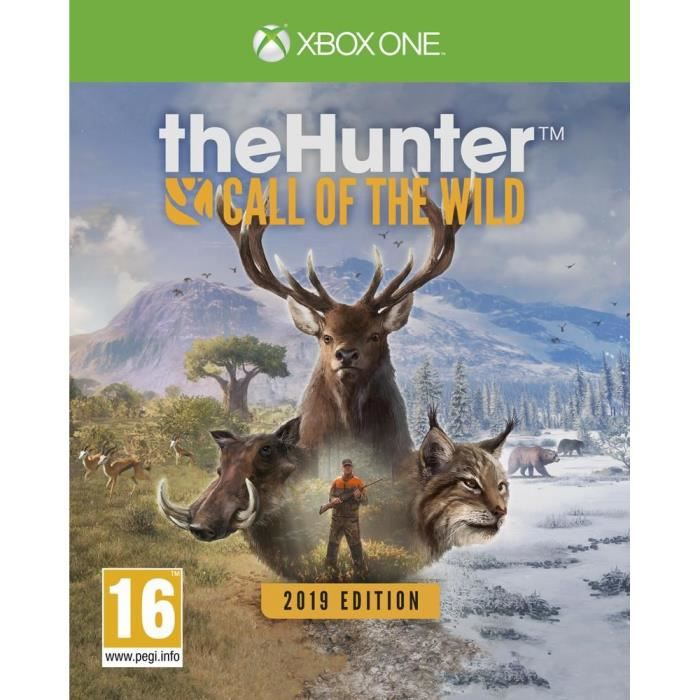 The Hunter Call Of The Wild 2019 Edition Jeu Xbox One