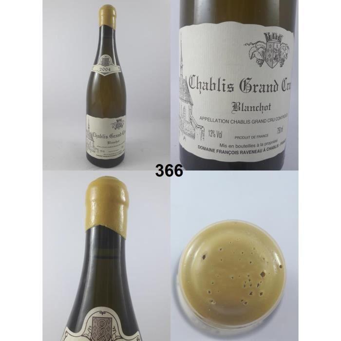 Chablis Grand Cru - Blanchot - Raveneau 2004 - N° : 366, Chablis, Blanc