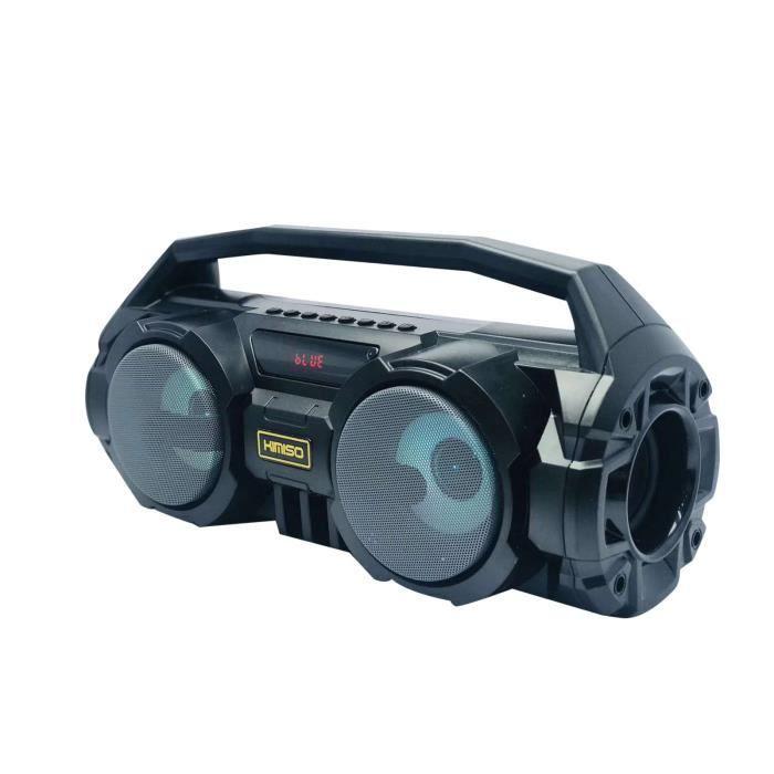 Haut-Parleur Bluetooth Portable 2021 Dernier Caisson De Basses Puissant Boombox Musique Surround sue85