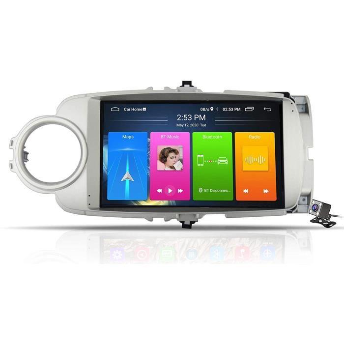 AUTORADIO Gokiu Android 9.1 Stereo Autoradio Multimedia GPS Navigation pour Toyota Yaris 2012-2017, Soutient Car Autoradio-DSP F174