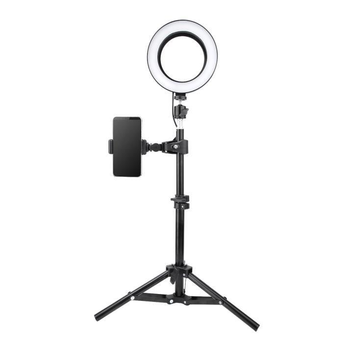 6 po USB LED Lampe Anneau Lumière Vidéo Dimmable pour Photographie Selfie en Direct Studio-MEY