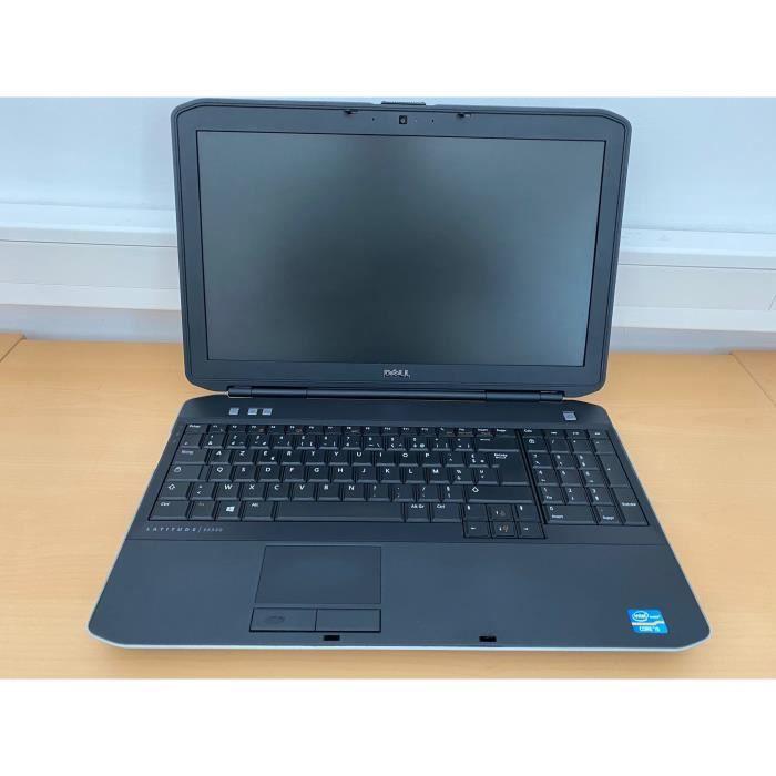 Pc portable Dell E5530 - i5 - 8Go -500HDD- 15.6'' - Win10 GRADE-D