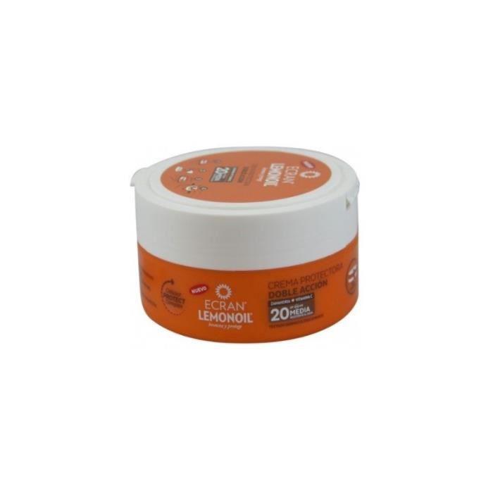 Ecran Crema Protectora Sol SPF 20 Doble Acccion 200 ml.