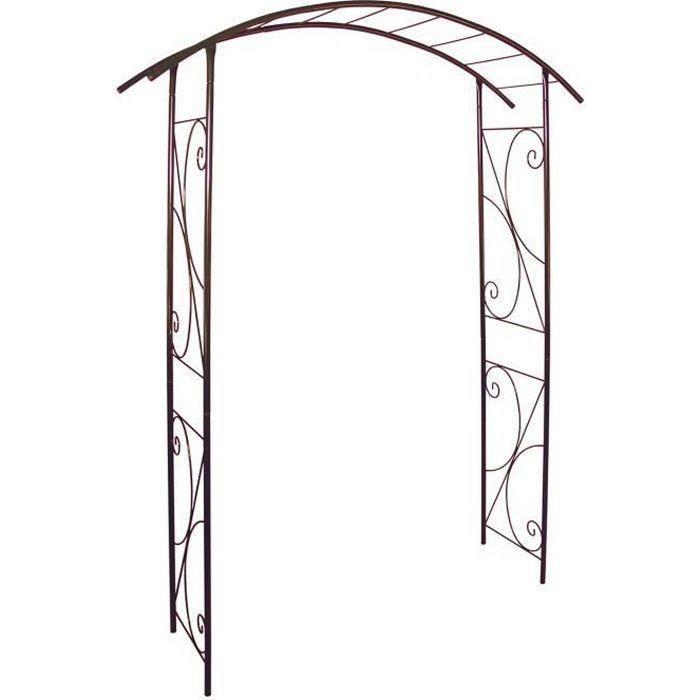 Louis Moulin 3416 Pont Arche Jardin Métal Fer Vieilli 148 x 207 cm